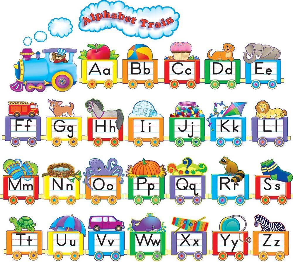 Alphabet Train Bulletin Board Display Set