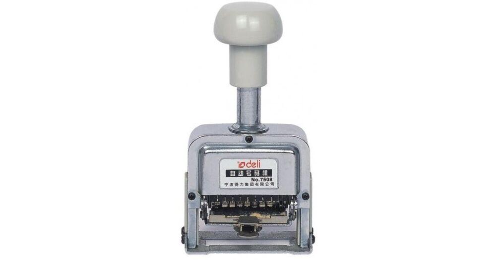 DELI EASY NUMBERING MACHINE 8-DIGITS 7508